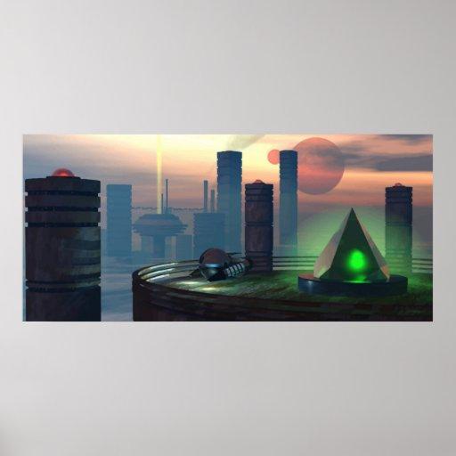 paisaje urbano posters