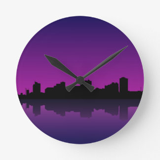 paisaje urbano relojes de pared