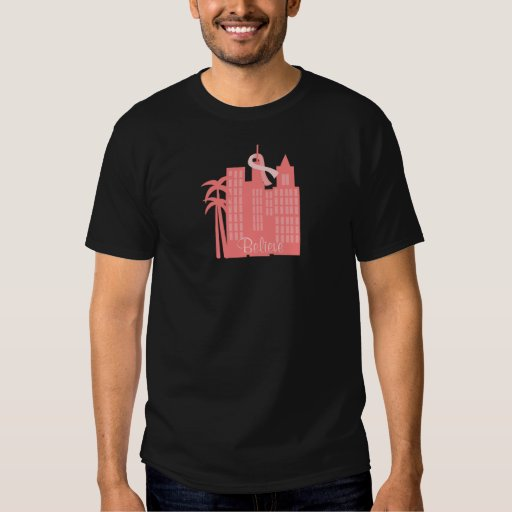 Paisaje urbano rosado de la cinta playera