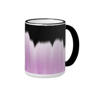 Paisaje urbano tazas de café