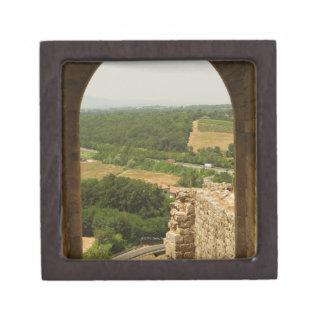 Paisaje visto a través de una arcada, Porta Caja De Joyas De Calidad
