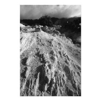 Paisaje volcánico impresión fotográfica