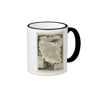 Paisaje y bosque tazas de café