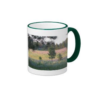 Paisaje y escritura de Dakota del Sur Taza De Café