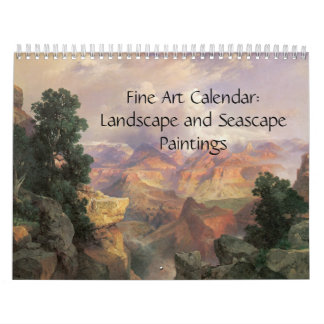 Paisajes 2015 y paisaje marino del calendario de