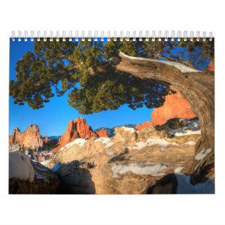 Paisajes 2016 de Colorado de la fotografía de Calendarios