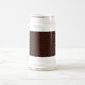 Paisajes abstractos del extranjero de los mundos taza de café