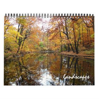 paisajes calendario