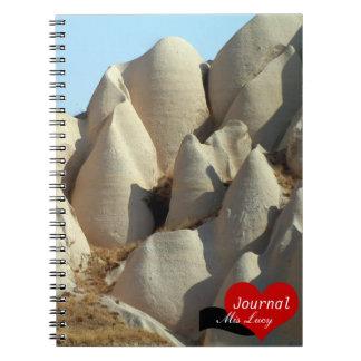 Paisajes de Cappadocia, naturaleza, Turquía Note Book