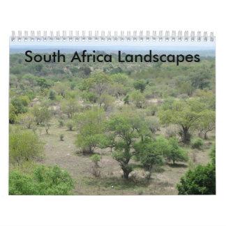 Paisajes de Suráfrica Calendarios De Pared