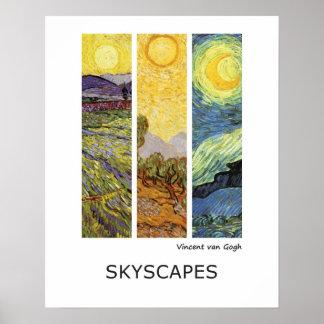 Paisajes de Vincent van Gogh Impresiones