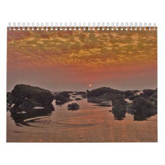 Paisajes en el calendario 2010 de la naturaleza