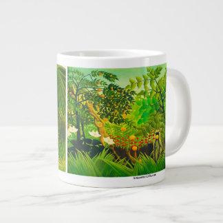 Paisajes exóticos - taza enorme taza grande