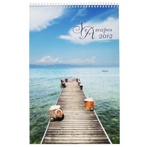 paisajes marinos calendario de pared