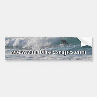 Paisajes marinos de Cornualles Pegatina Para Auto