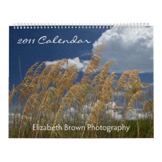 Paisajes marinos y paisajes - calendario 2011