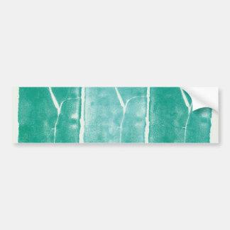 Paisajes monolíticos de Nadia Korths_Three Pegatina De Parachoque