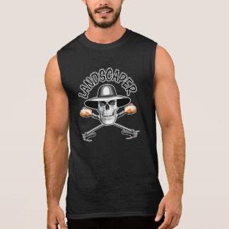 Paisajista 2 del cráneo camisetas sin mangas
