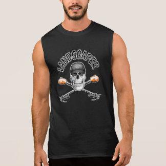 Paisajista del cráneo camisetas sin mangas