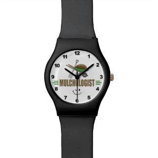 Paisajista divertido relojes