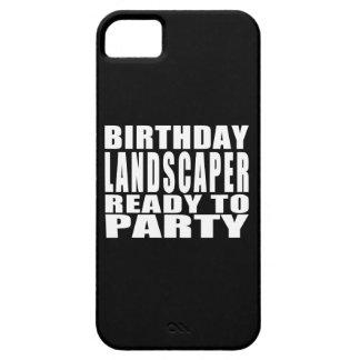 Paisajistas: Paisajista del cumpleaños listo para iPhone 5 Carcasas
