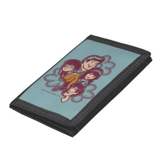 Paisely Flower Scooby-Doo and the Gang Trifold Wallet