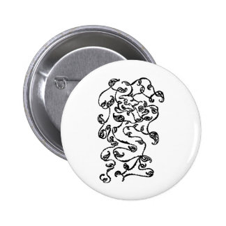 Paisely vine pin