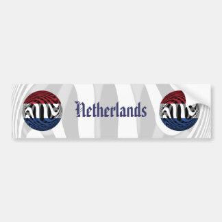 Países Bajos #1 Pegatina Para Auto