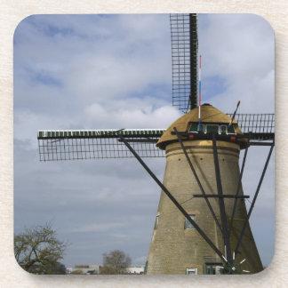 Países Bajos (aka Holanda), Kinderdijk. 19 Posavasos De Bebidas