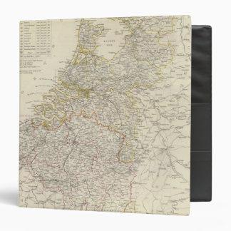 """Países Bajos, Bélgica Carpeta 1 1/2"""""""