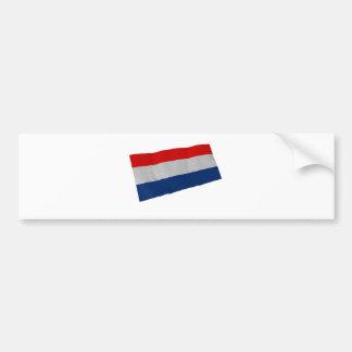 Países Bajos Pegatina De Parachoque