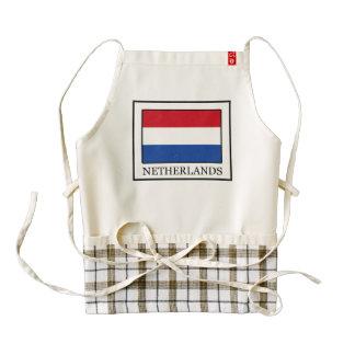 Países Bajos Delantal Zazzle HEART