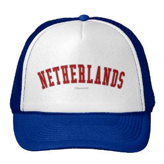 Países Bajos Gorra