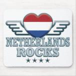 Países Bajos oscilan v2 Alfombrillas De Ratones