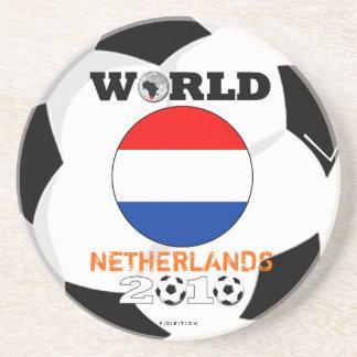 Países Bajos práctico de costa de 2010 mundiales Posavaso Para Bebida