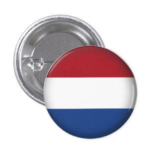 Países Bajos redondos Pin Redondo De 1 Pulgada