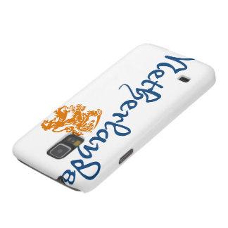 Países Bajos y escudo Carcasa De Galaxy S5