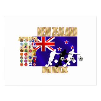 Países de calificación de la bandera 32 de Nueva Tarjetas Postales
