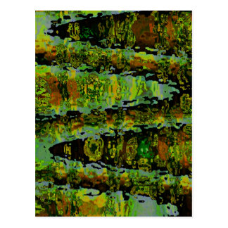 Países de las maravillas - lagunas verde oscuro tarjetas postales