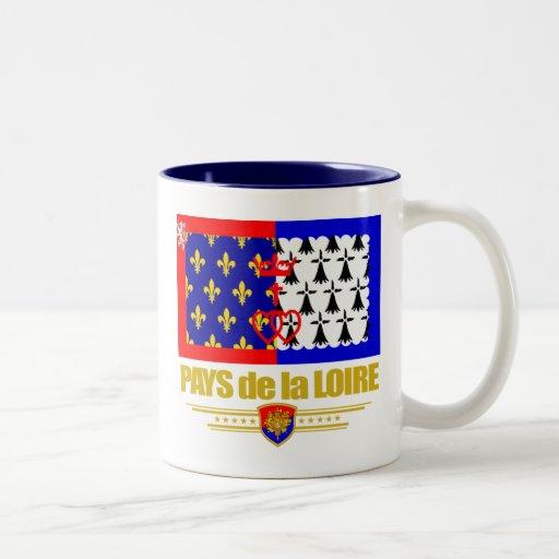 Países del Loira Taza De Café