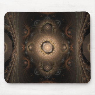 Paisley Abstract Fractal Design Mouse Pad