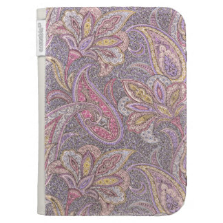 Paisley and flower pattern cases for kindle