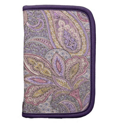 Paisley and flower pattern planners