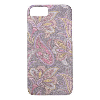 Paisley and flowers pattern iPhone 7 case