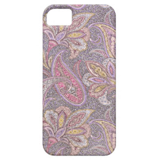 Paisley and flowers pattern iPhone SE/5/5s case