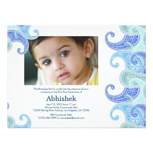 Personalized Hindu Ceremony Invitations Custominvitations4u Com
