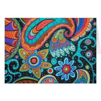 Paisley Art image products items Greeting Card