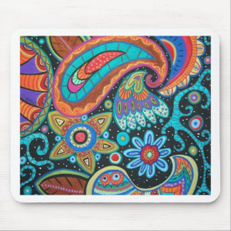 Paisley Art image products items Mouse Pad