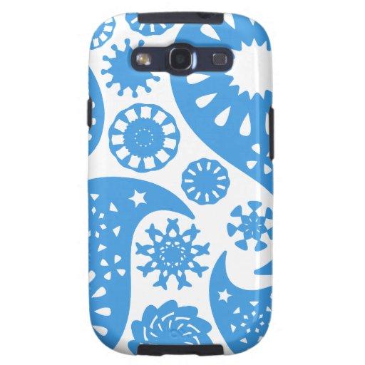 Paisley azul galaxy s3 cobertura