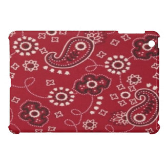 Paisley Bandana Red iPad Mini Glossy Finish Case iPad Mini Cases